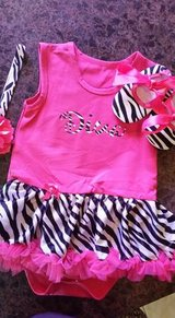 BRAND NEW SUPER CUTE….Baby girl tutu dress, hair pretty and soft shoes... in Baytown, Texas
