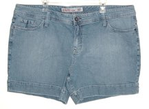 Mossimo Supply Co Denim Jean Shorts Womens Plus 26W 26 4X in Yorkville, Illinois