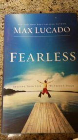 "Max Lucado hard copy of ""Fearless"" in Temecula, California"