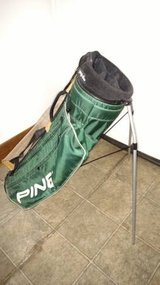Ping Hoofer Golf Bag - Green -  with Pop Out Legs in Bartlett, Illinois