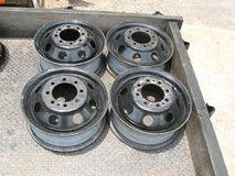 """dually wheels/ four / 16""""x 6""""/ 8 lug on 6.5"""" lug pattern ford in Fort Campbell, Kentucky"""