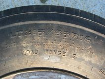 Goodyear G947 RSS 215/85/16lt tire and wheel goood tread in Fort Campbell, Kentucky