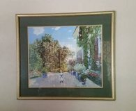 Picture Print- Framed Garden Scene - Matted in Glendale Heights, Illinois