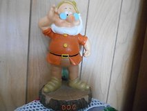 "9""  New Disney Snow White Dwarf Garden Gnome ""DOC"" MINT! in Bellaire, Texas"