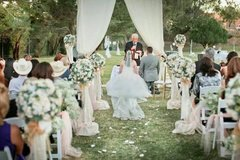 Outdoor wedding rentals in Fort Bliss, Texas