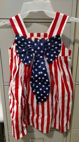 Marmellata Size 4 Flag Dress Red White Blue 4th July Memorial (T=33) in Fort Campbell, Kentucky
