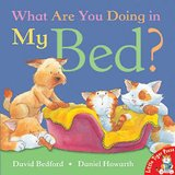 What Are You Doing In My Bed?  Cat Dog Children's Hard Cover Book in Morris, Illinois