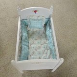 American Girl Bitty Baby Crib with Bedding in Algonquin, Illinois
