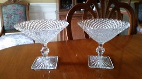 Compotes - Miss America Clear Glass Compote in Aurora, Illinois