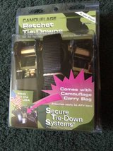Camo Ratchet Tie-downs ATV  (new in package) in Warner Robins, Georgia