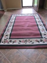 Flowered Area Rug in Palatine, Illinois