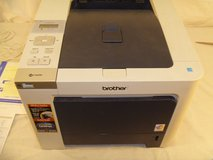 brother hl4040cdn networking printer/copier/fax machine with toner left 80052 in Huntington Beach, California