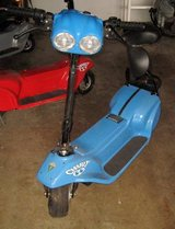 Used MZ Charly Electric Scooter - Blue - Not Street Legal in Bolingbrook, Illinois