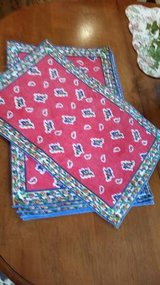 Placemats- Red, Blue, and Yellow- 7 - New in Chicago, Illinois