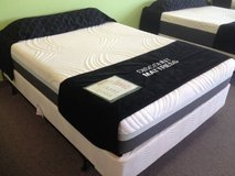 "New! PREMIUM 10"" STAY-COOL Gel MEMORY FOAM Mattress! FREE DELIVERY in Glendale Heights, Illinois"