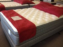 """NEW! 16"""" THICK Stay Cool Gel! LUXURY Pillowtop Mattress! FREE DELIVERY in Aurora, Illinois"""