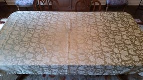 Tablecloth  Damask -Sage Green in Naperville, Illinois