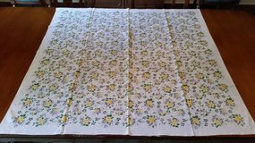 Tablecloth / Cover- Floral - made in Italy in Naperville, Illinois
