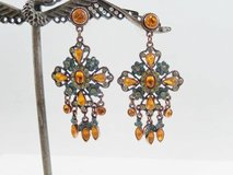 Earrings - Joan Rivers Signed - Chandelier in Glendale Heights, Illinois