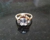 Ring - 10K with Crystals - Size 5 in Glendale Heights, Illinois