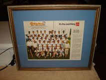 1974 Milwaukee Brewers Baseball Framed Picture Marc's Big Boy L@@K!! in Brookfield, Wisconsin