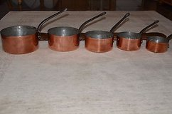 5 very nice old copper from france - french copper in Ramstein, Germany