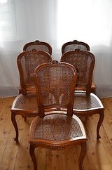 5 (6) very nice antique chairs from France in Ramstein, Germany