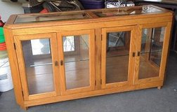 lighted display cabinet buffet in Naperville, Illinois