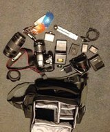 Canon EOS Rebel T3 with lots of extras in Cleveland, Texas