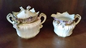 RS Prussia Sugar and Creamer - Mint Condition in Orland Park, Illinois