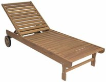 Amazonia Garopaba Patio Chaise Lounger  - NEW! in Lockport, Illinois