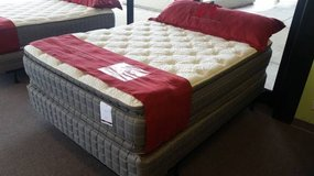 "OVERSTOCK! 17"" DOUBLE-SIDED Pillow Top Mattress! FREE Delivery in Lockport, Illinois"