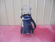aerocare liquid oxygen portable concentrator batter powered w/ wheeled cart 6235 in Huntington Beach, California