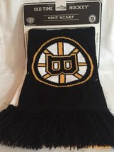 Boston Bruins NHL Knit Scarf Old Time Hockey in Lockport, Illinois