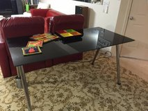 IKEA GLASS DINING TABLE- posh, sophisticated look in Fort Lewis, Washington