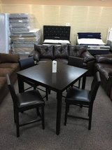 ***NEW***Counter Height Pub Style Table w/4 Chairs in Beaufort, South Carolina
