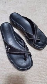 Clarks Sandals - Black with Straps - Size 7 1/2 in Joliet, Illinois