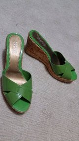 Franco Sarto Wedges - Light Green Straps - Like New in Joliet, Illinois