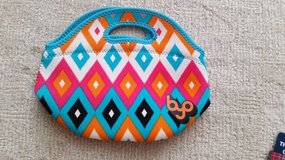 Lunch Tote by BYO BUILT - stretches, cute pattern in Joliet, Illinois