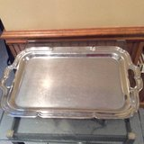 Vintage Stainless Steel Serving Trays--high gloss in Bartlett, Illinois