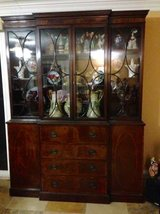 Antique Hutch/China Cabinet/Library Book Case in Fairfield, California