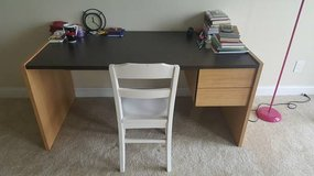 Solid Wood Desk and chair in Providence, Rhode Island