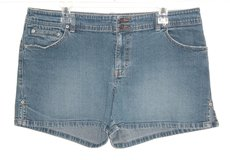Old Navy Low Waist Denim Jean Shorts Womens 16 x 4 Stretch XL in Yorkville, Illinois