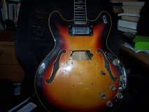 VOX Cheetah Electric hollowbody project guitar in Vacaville, California