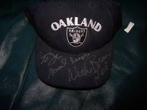 Willie Brown Autographed Raiders Hat in Travis AFB, California