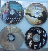 5 dvd movies superman returns, derailed, constant gardner, babysitter, & cult cl in Joliet, Illinois