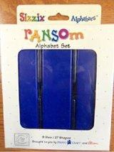 NEW Sizzix Alphabars Ransom Alphabet A-Z Dies  Letters in Glendale Heights, Illinois