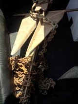 Boat Anchor with Chain in Fort Belvoir, Virginia