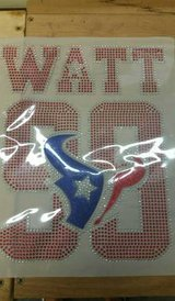 Football is about to kick off. . .Get your bling TEXAN shirt today in Pasadena, Texas