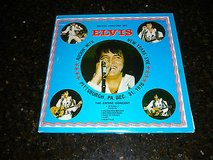elvis presley original boot-legged album from 1970s-rockin w elvis new years eve in Yucca Valley, California